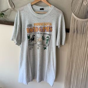 Vintage Minnesota Road Games Single Stitch Tee